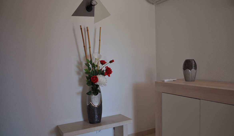Appartement 4/6 personnes – Vue jardin